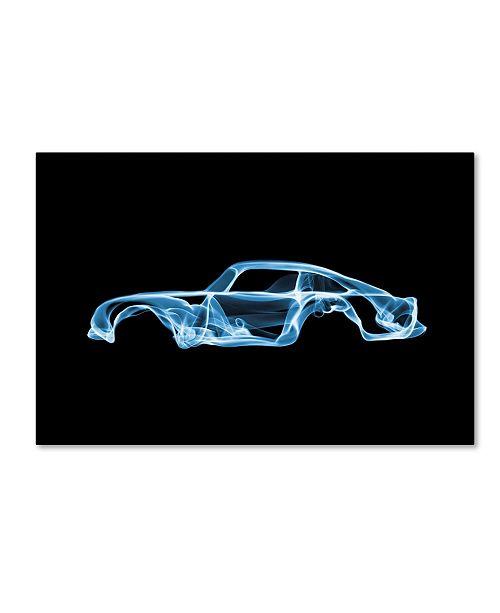 "Trademark Innovations Octavian Mielu 'Aston Martin DB5' Canvas Art - 32"" x 22"" x 2"""