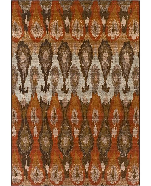 "D Style Weekend Wkd3 Canyon 8'2"" x 10' Area Rug"