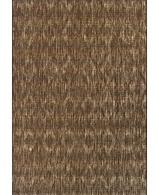 "D Style Weekend Wkd6 Chocolate 8'2"" x 10' Area Rug"