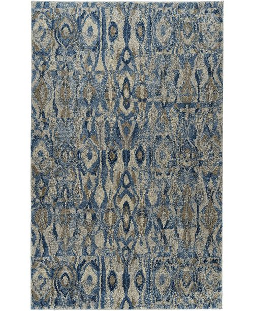 "D Style Tempo Tem2 Baltic 5'3"" x 7'7"" Area Rug"