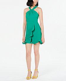 19 Cooper Ruffled Lace-Back Dress