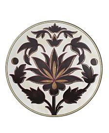 Lenox Global Tapestry Garnet Lotus Accent/Salad Plate
