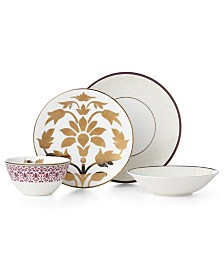 Lenox Global Tapestry Garnet 4 Piece Place Setting