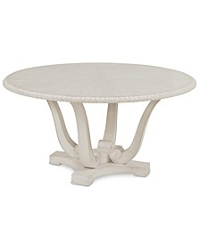 Trisha Yearwood Jasper County Dogwood Round Dining Table