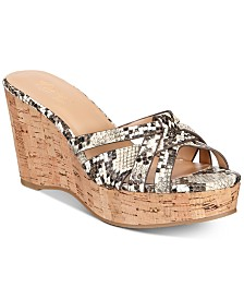 Thalia Sodi Jaylen Wedges, Created for Macy's