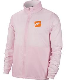 Men's Logo Hooded Jacket
