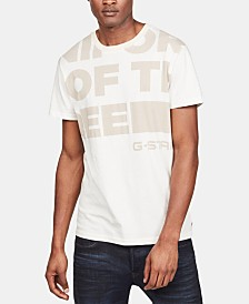 G-Star RAW Men's Block Letter T-Shirt, Created for Macy's