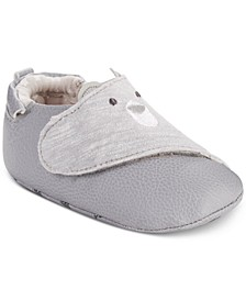 ro + me by Baby Boys Bear Slip-On Shoes