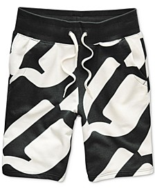 Men's Geometric Jogger Shorts, Created for Macy's
