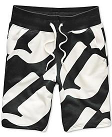 Men's Geometric Jogger Shorts, Created for Macy's