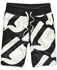 G-Star RAW Men's Geometric Jogger Shorts, Created for Macy's
