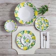 Q Squared Limonata Melamine Dinnerware Collection