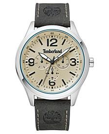 Men's Sandsfield Multifunction Dark Olive/Silver/Cream Watch