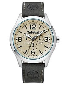 Timberland Men's Sandsfield Multifunction Dark Olive/Silver/Cream Watch