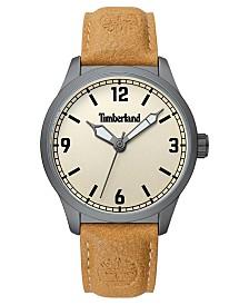 Timberland Men's Orrington Tan/Gunmetal/Cream Watch