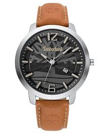 Timberland Men's larksville Brown/Silver/Black Watch