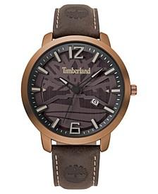 Men's Clarksville Dark Brown/Copper Watch