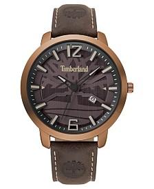 Timberland Men's Clarksville Dark Brown/Copper Watch