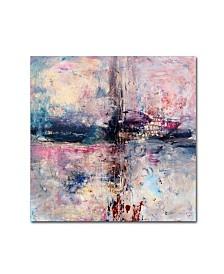 "Natasha Wescoat 'Iron Soul' Canvas Art - 14"" x 14"" x 2"""