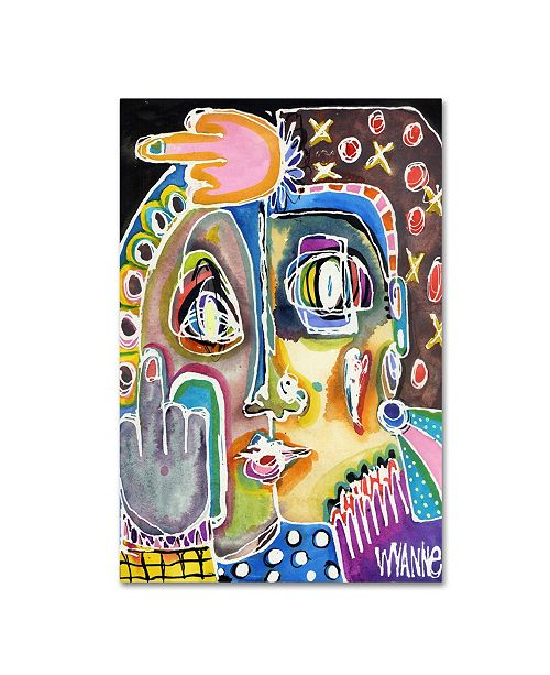 """Trademark Global Wyanne 'Double Forget This Stuff' Canvas Art - 32"""" x 22"""" x 2"""""""