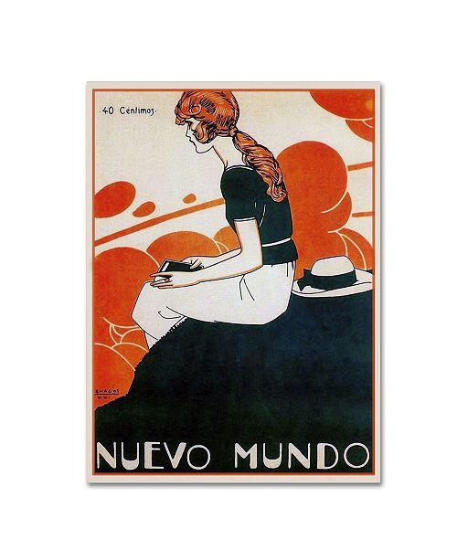 "Trademark Global Vintage Lavoie 'Mag 11' Canvas Art - 19"" x 14"" x 2"""