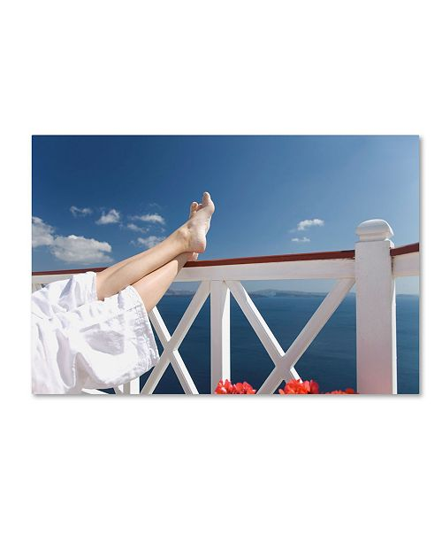 """Trademark Global Robert Harding Picture Library 'Lounging' Canvas Art - 24"""" x 16"""" x 2"""""""