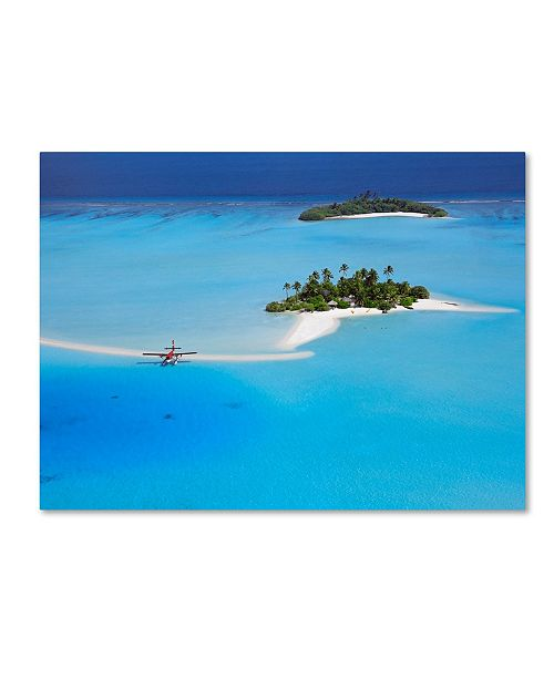 "Trademark Global Robert Harding Picture Library 'Beachy 14' Canvas Art - 47"" x 35"" x 2"""