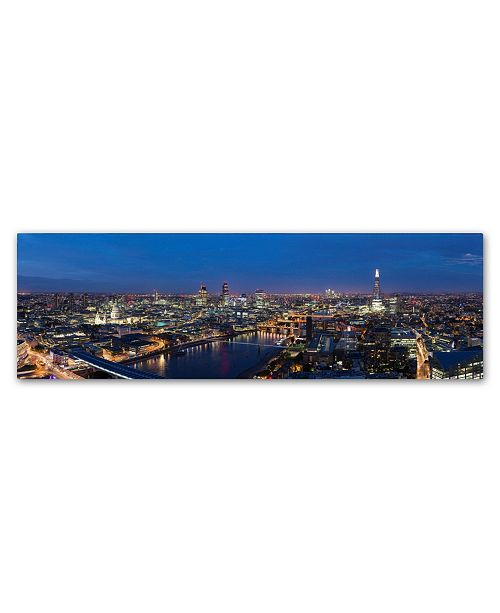 """Trademark Global Robert Harding Picture Library 'Cityscape 6' Canvas Art - 47"""" x 16"""" x 2"""""""