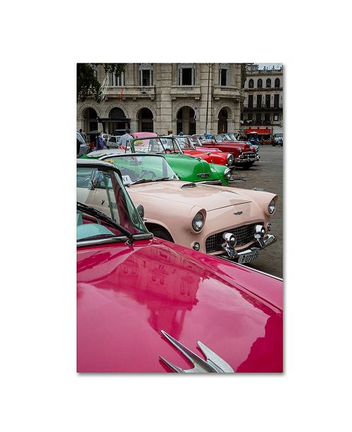 "Trademark Global Robert Harding Picture Library 'Classic Cars' Canvas Art - 32"" x 22"" x 2"""