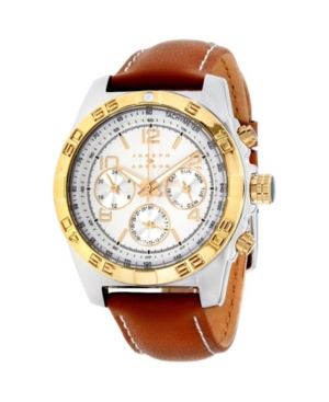 Image of Joseph Abboud Men's Analog Leather Watch