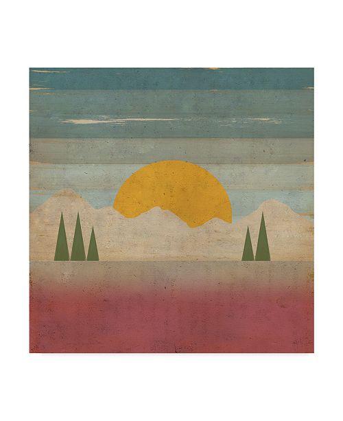 "Trademark Global Tammy Kushnir 'Day In The Forest' Canvas Art - 35"" x 35"" x 2"""