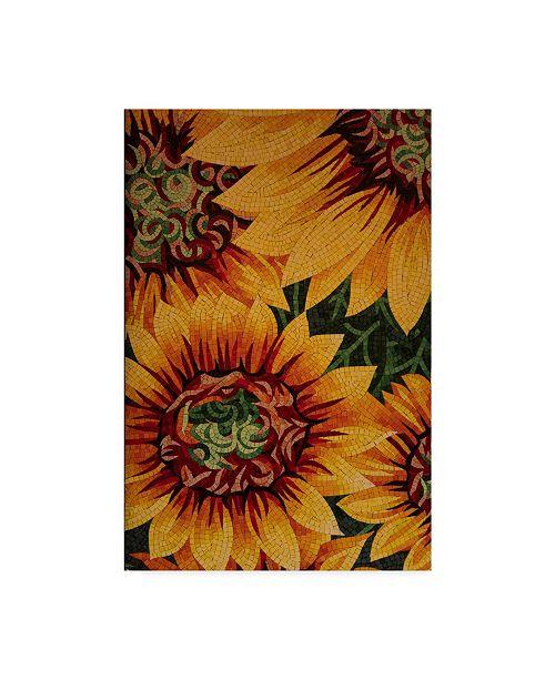 "Trademark Global Moises Levy 'Art Flower' Canvas Art - 32"" x 22"" x 2"""