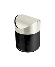 Mini Counterop Trash Can with Lid 1.5 L / 0.40 Gal - Silver