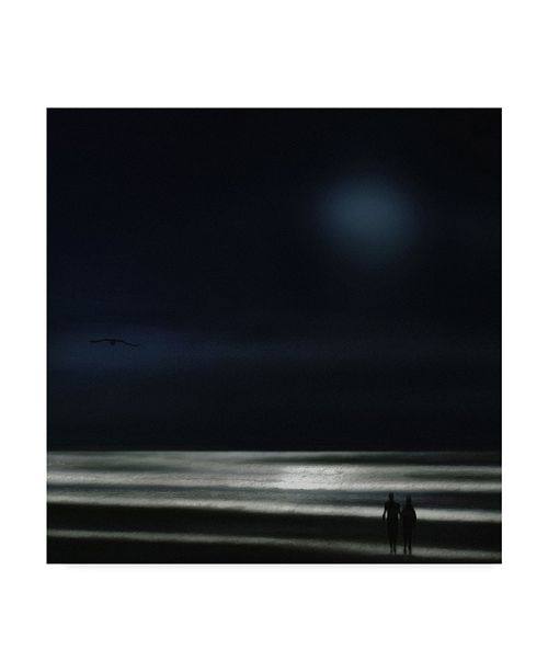 "Trademark Global Piet Flour 'You Are My Ocean' Canvas Art - 18"" x 2"" x 18"""