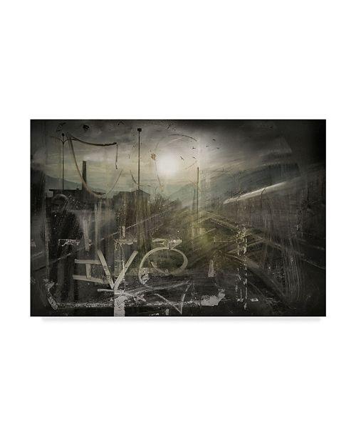 "Trademark Global Vito Guarino 'What A Wonderful World' Canvas Art - 32"" x 2"" x 22"""
