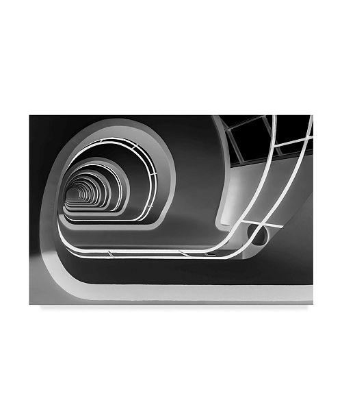 "Trademark Global Jan Niezen 'Stairs 3' Canvas Art - 32"" x 2"" x 22"""