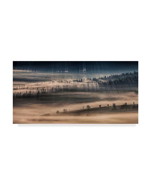 "Trademark Global Peter Svoboda 'Land Of Thousands Shadows' Canvas Art - 32"" x 2"" x 16"""