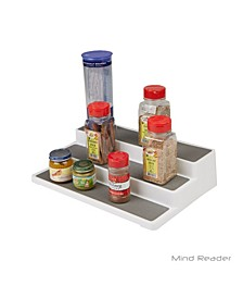 3-Tier Spice Pantry Kitchen Cabinet Organizer, Non-Skid, Shelf Organization