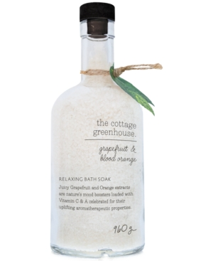 The Cottage Greenhouse Grapefruit & Blood Orange Relaxing Bath Soak, 33-oz.