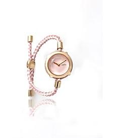 RumbaTime Gramercy Gem with Custom Braided Band Watch