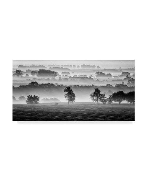 "Trademark Global Piotr Krol 'Morning View Landscape' Canvas Art - 47"" x 2"" x 24"""