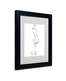 "Jennifer Lilya 'Purse Your Hips' Matted Framed Art - 14"" x 11"" x 0.5"""