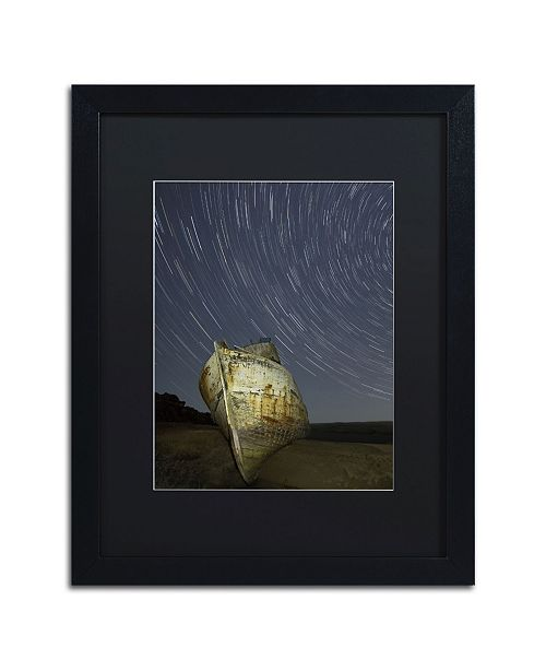 "Trademark Global Moises Levy 'Point Reyes II' Matted Framed Art - 16"" x 20"" x 0.5"""