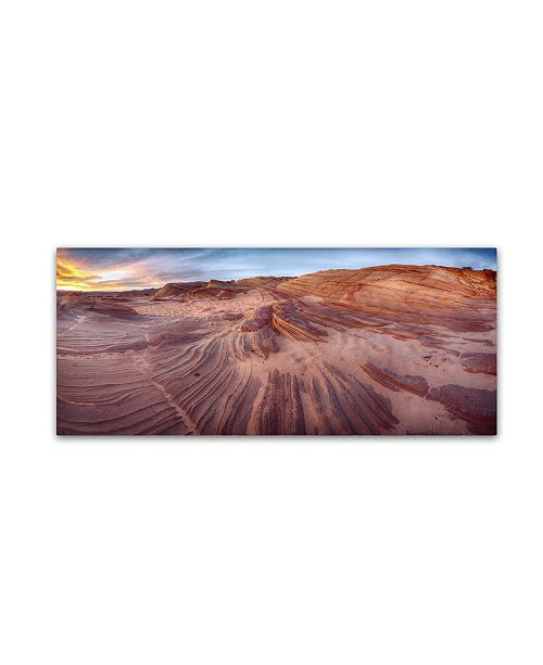 """Trademark Global Moises Levy 'The Great Wall' Canvas Art - 47"""" x 20"""" x 2"""""""