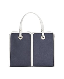 Sam Canvas Plunge Mini Satchel