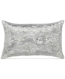 """Sunham Metallic Velvet Silver White 14""""x22"""""""