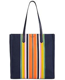 kate spade new york Kitt Stripe Large Tote