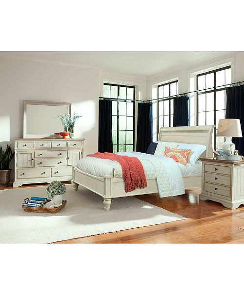Cottage Solid Wood Bedroom Furniture Collection