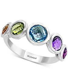 EFFY® Multi-Gemstone (2-1/2 ct. t.w.) Statement Ring in Sterling Silver