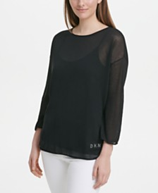 DKNY Logo-Embellished Sweater